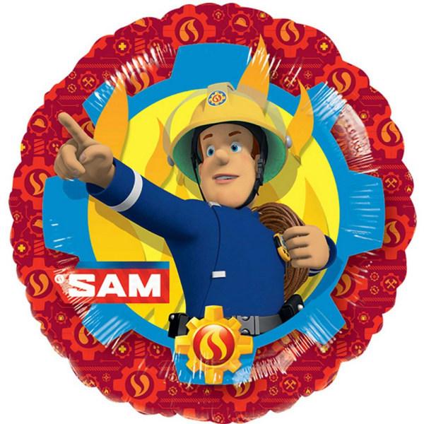 Anagram 18 tums brandman Sam Circle Foil Balloon One Size Flerfä