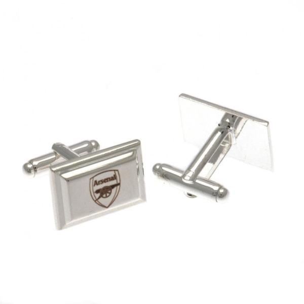 Arsenal FC Manschettknappar i silver One Size Silver