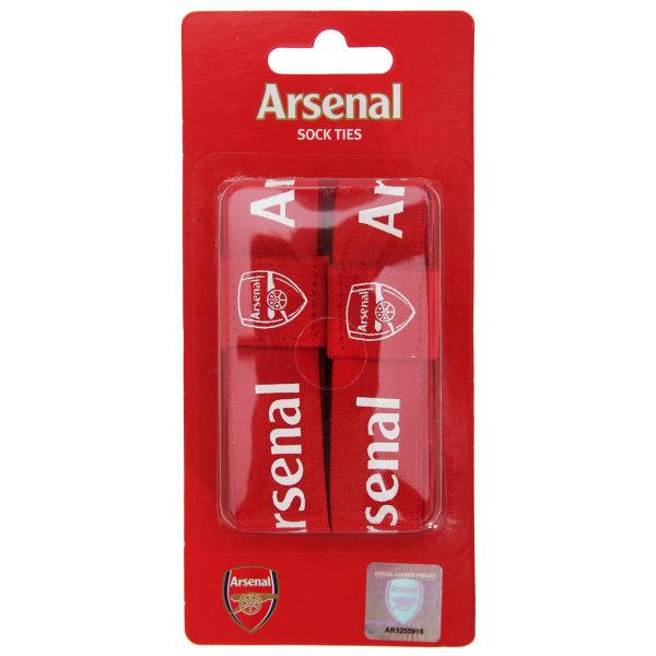 Arsenal FC Officiella elastiska fotbollsvapen sportstrumpor One