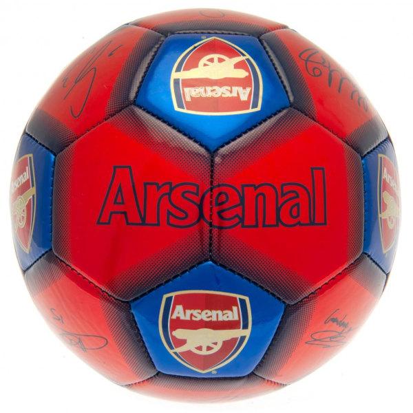 Arsenal FC Signature Football One Size Röd / Blå