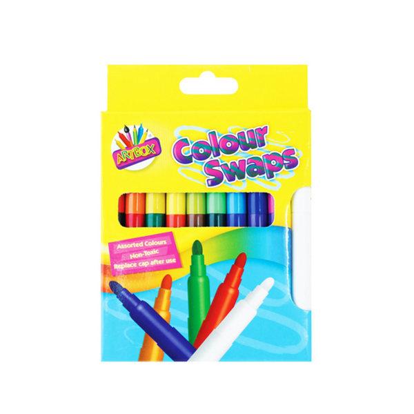 ArtBox 8 magiska färger byta fiberpennor One Size Flerfärgade