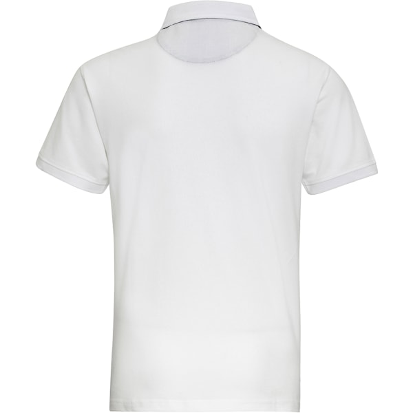 Asquith & Fox Herrtrim Polo shirt S Vit