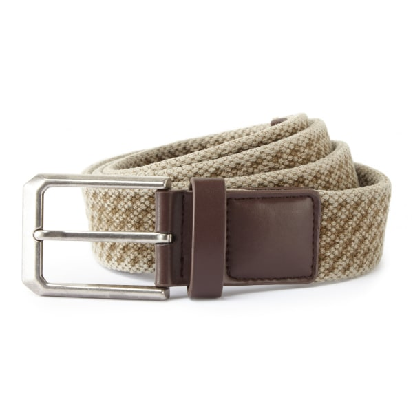 Asquith & Fox Vintage Wash Canvas Belt för herrar S/M Kaki