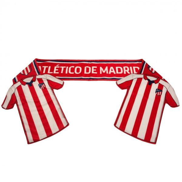 Atletico Madrid FC Skjorta halsduk 174 x 16cm Röd vit