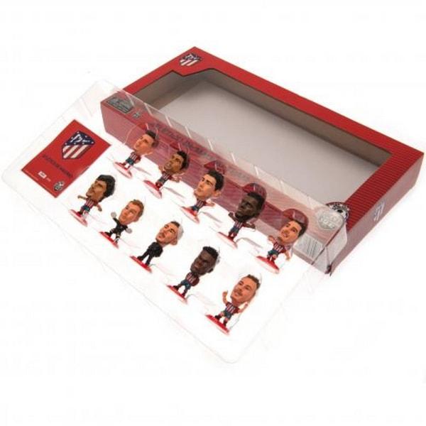 Atletico Madrid FC SoccerStarz Team Pack (paket med 10) One Size