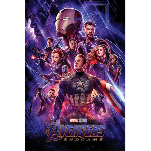 Avengers Endgame Journeys End Poster 61cm x 91.5cm Flerfärgade