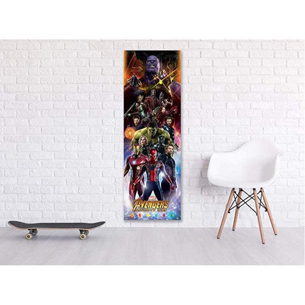 Avengers Infinity War Door Poster One Size Flera färger