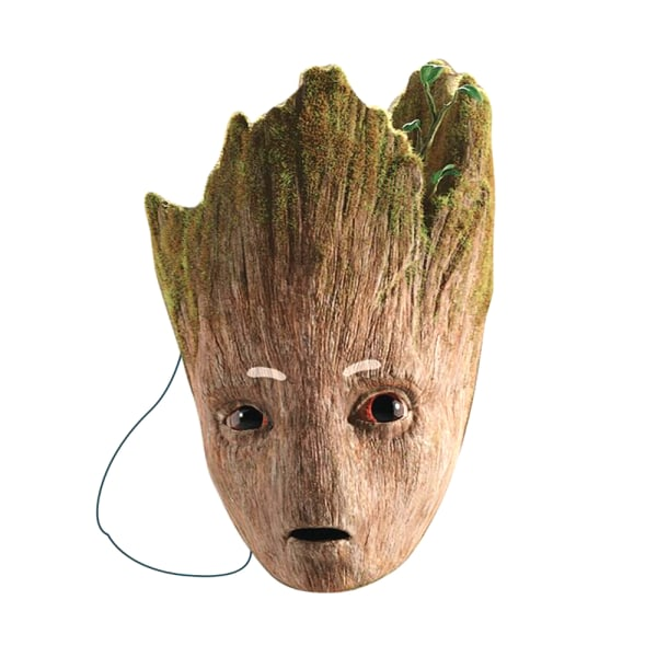 Avengers Mask Groot One Size Brun