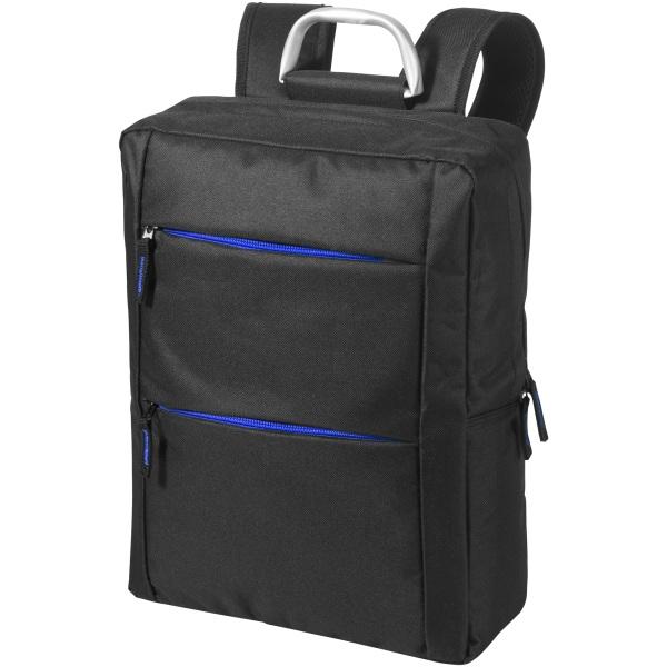 Avenue Boston 15.6 Laptop-ryggsäck 29 x 12 x 38 cm Massiv svart