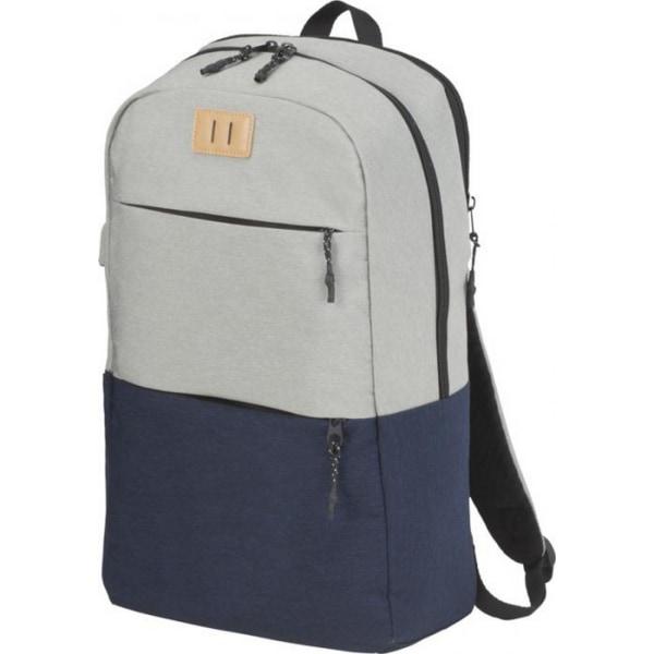 Avenue Cason 15in bärbar ryggsäck One Size Marinblå / Grå