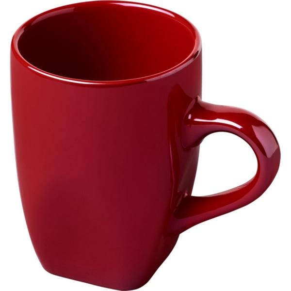 Avenue Kosmisk keramisk mugg One Size Röd