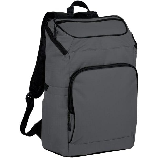 Avenue Manchester 15.6in bärbar ryggsäck 30.5 x 14 x 40.6cm Grå