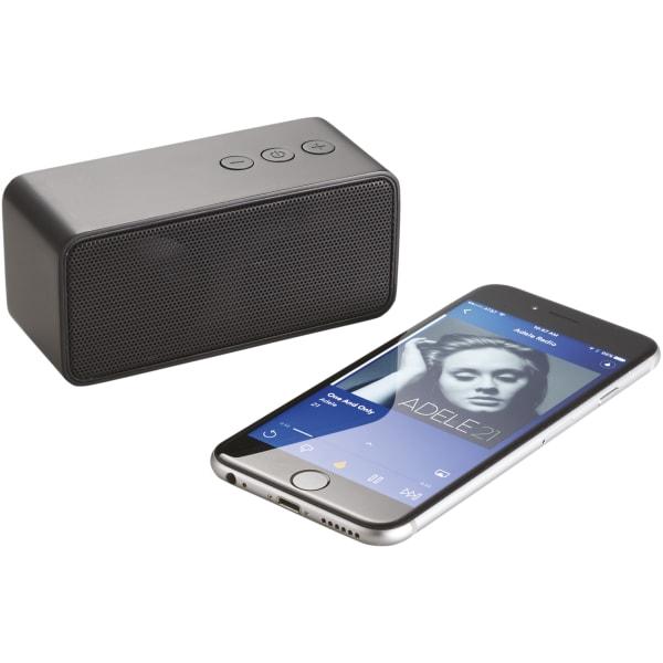 Avenue Stark Bluetooth-högtalare 11 x 4.5 x 5 cm Massiv svart