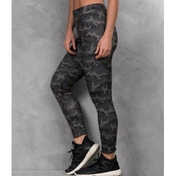 AWDis Dam / coola Girlie-tryckta leggings XL Fashion Green Camo