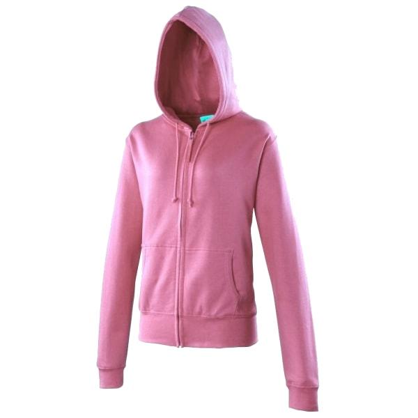 Awdis Girlie Damer / Hooded Sweatshirt / Hoodie / Zoodie S Candy
