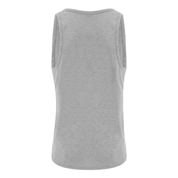 AWDis Just Ts Mens Tri-Blend Vest XL Heather Grey