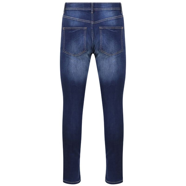 AWDis Så Denim Mens Luke Fashion Jeans 28L Indigo