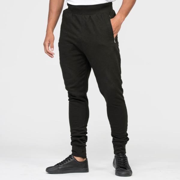 Awdis Slim Fit Dropped Crotch Jogging Nederdelar för män / svett
