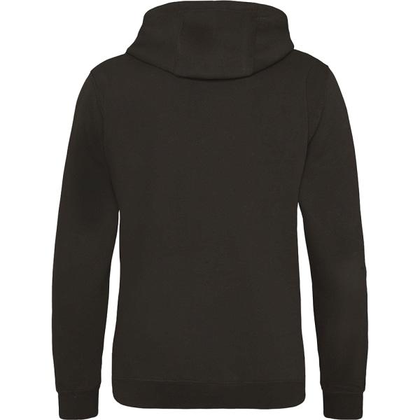 Awdis Street Hooded Sweatshirt / Hoodie för herrar XL Varm chokl