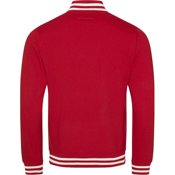 Awdis Adults Unisex College Varsity Jacket XS Fire Red