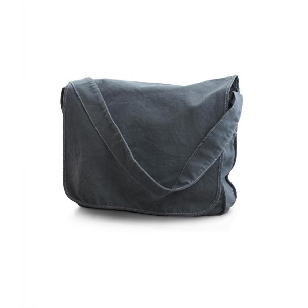 Bags By Jassz Canvas Messengerväska One Size Denim blå