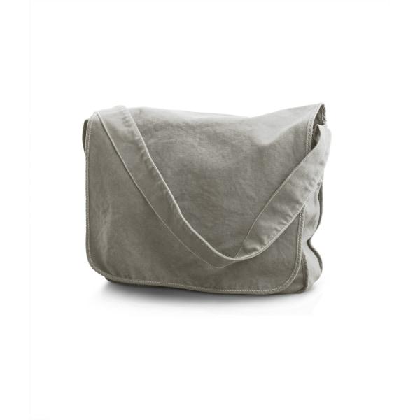 Bags By Jassz Canvas Messengerväska One Size Midgrå