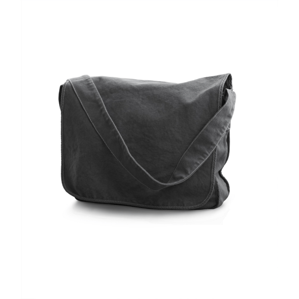 Bags By Jassz Canvas Messengerväska One Size Pepper Grey