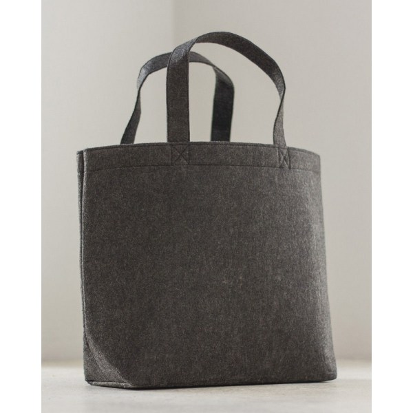 Bags By Jassz Stor filt shopper (paket med 2) One Size Kolgrå