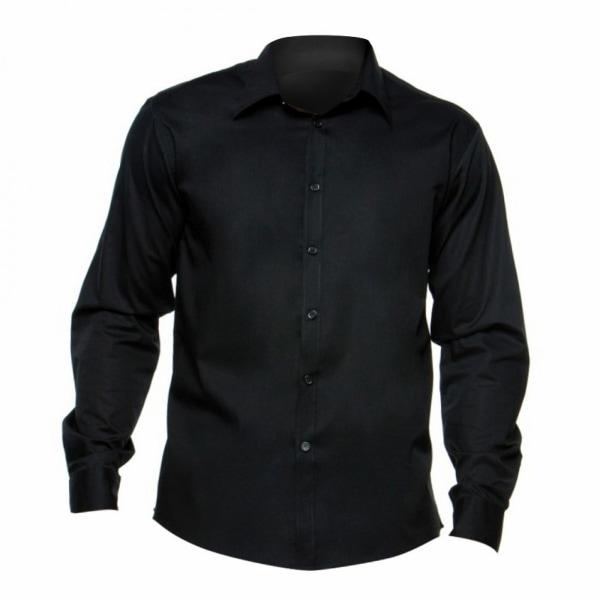 BARGEAR ® Herrskjorta med långärmad bar / skjortor för män 2XL S