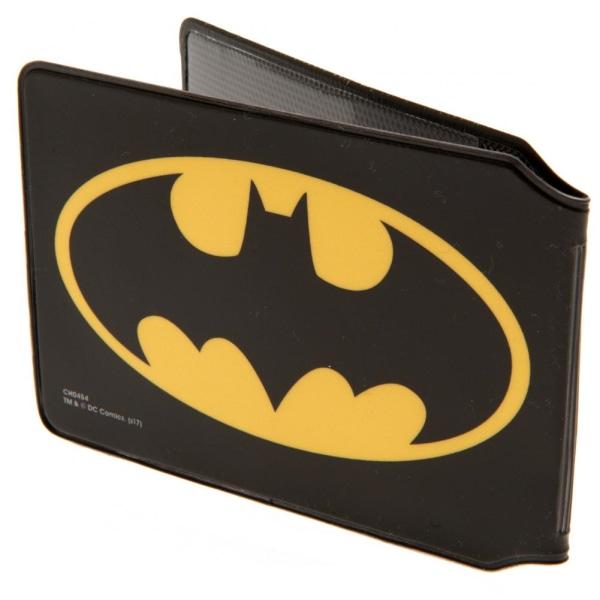 Batman Korthållare 10 x 7.5cm Svart gul