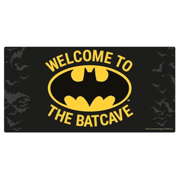 Batman Metallplack One Size Svart gul