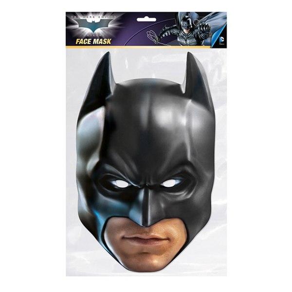 Batman The Dark Knight Party Mask One Size Svart / Beige