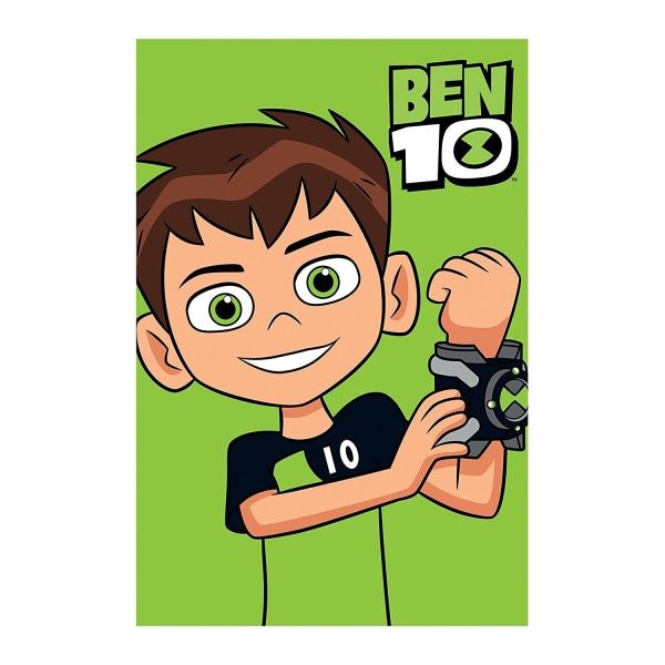 Ben 10 Hero Fleece Filt One Size Flerfärgade