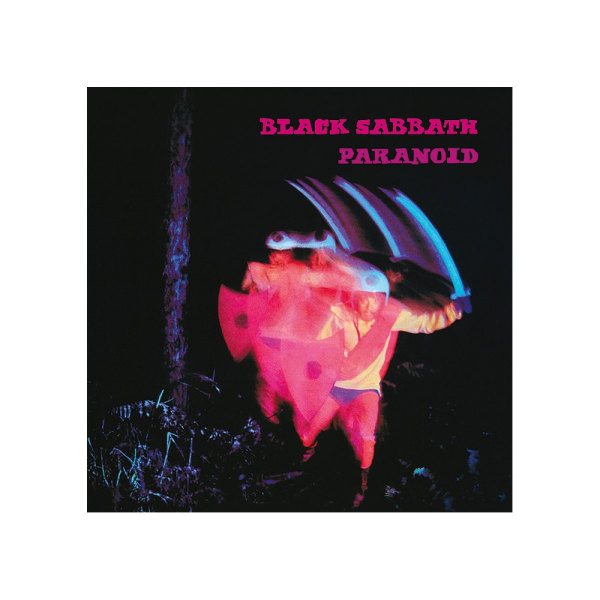 Black Sabbath Paranoid kanvastryck One Size Black / Pink