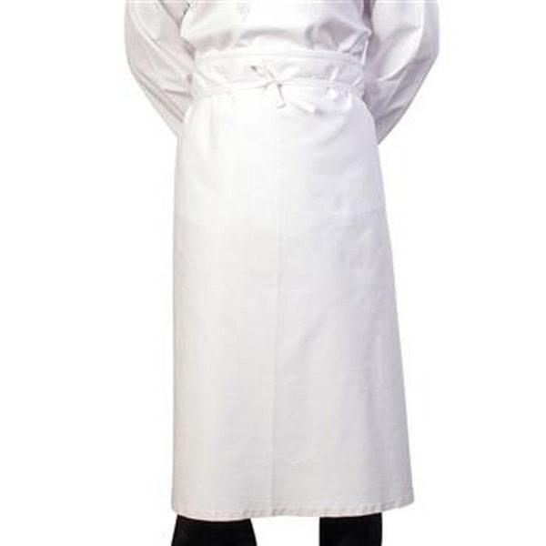 BonChef 36 tums kock / barförkläde One Size Vit