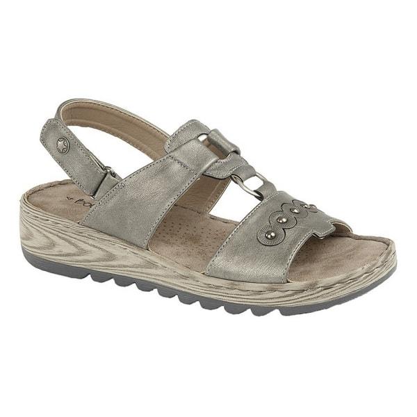 Boulevard Kvinnor / damer Halter Back Touch Fastening Sandal 6 U