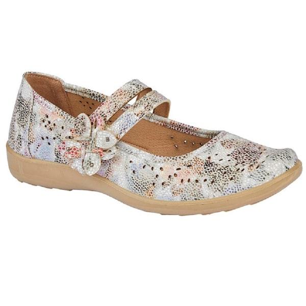 Boulevard Kvinnors / damblommor sko 6 UK Flerfärgade Multicoloured 6 UK