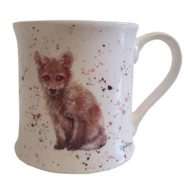 Bree Merryn Fife The Fox China Mug One Size Vit / Orange