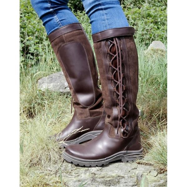 Brogini Damläder / Damläder / Mocka Winchester Country Boots 4.5