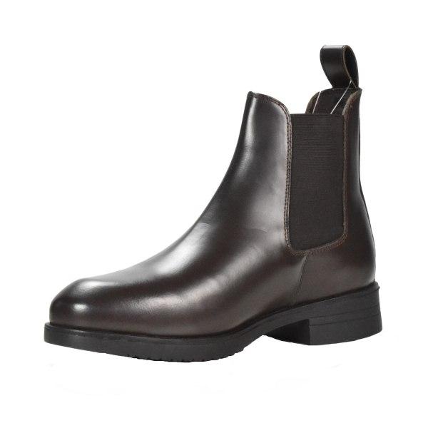 Brogini Unisex vuxna Harlynn läder Jodhpur stövlar 3.5 UK Brun
