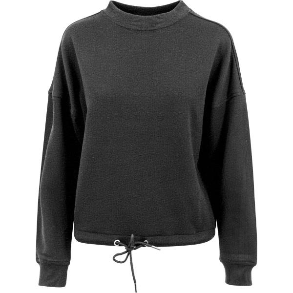 Build Your Brand Kvinnors / damer överdimensionerad tröja med Cr
