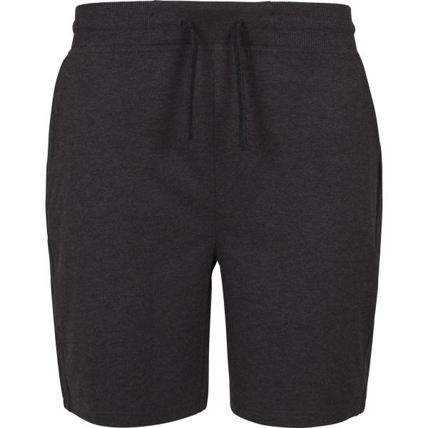 Build Your Brand Terry Shorts för herrar S Träkol