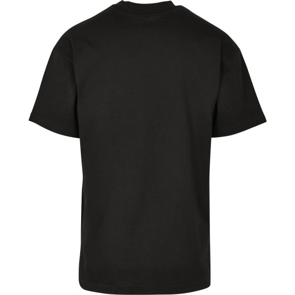 Build Your Brand Unisex vuxna Wide Cut T-shirt XL Svart