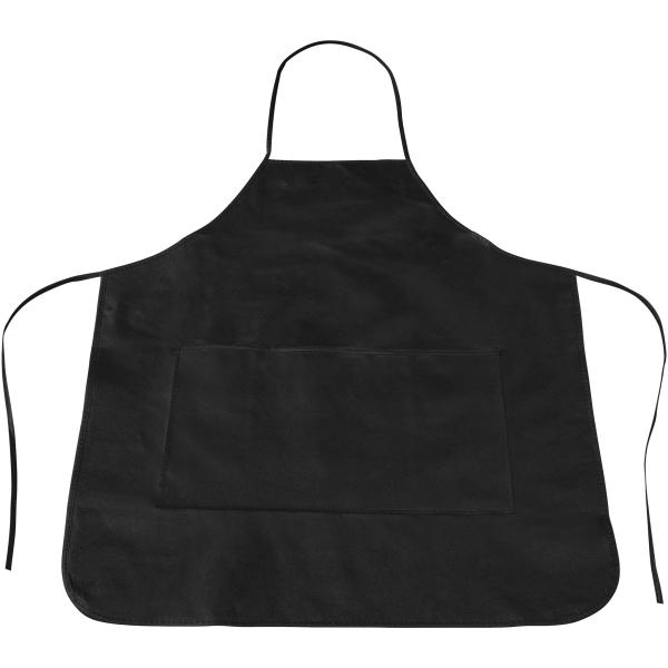 Bullet Cocina Förkläde 70 x 61 cm Massiv svart