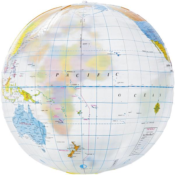 Bullet Globen Transparent Beach Ball 25 cm Transparent