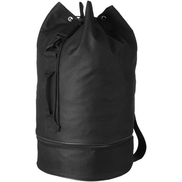 Bullet Idaho Sailor Bag (paket med 2) 50 x 30 cm Massiv svart