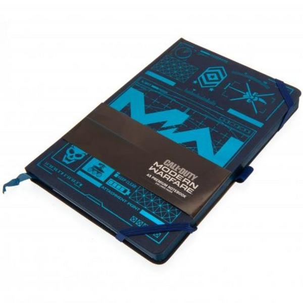 Call Of Duty Modern Warfare Premium Notebook One Size Blue