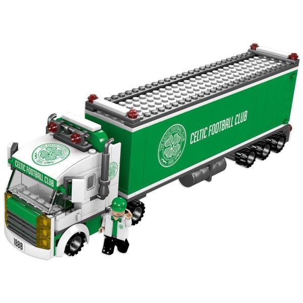 Celtic FC Fan Truck byggstenar Set One Size Grön / Vit