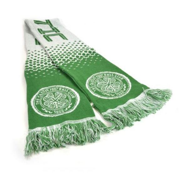 Celtic FC Officiell fotbollsfade Jacquard-halsduk One Size Grön