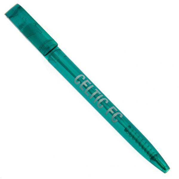 Celtic FC Officiell infällbar penna One Size Grön